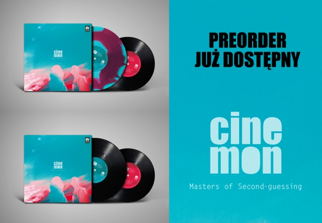 PREORDER  CINEMON - MASTERS OF SECOND​-GUWSSING JUŻ DOSTĘPNY!!!